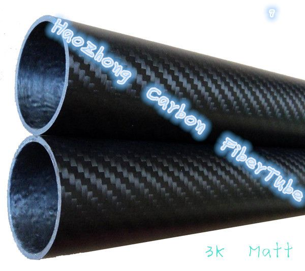 500mm 3 k Fiber De Carbone Tube 35 36mm 38 40mm 42 44 45 46mm (Rouleau enveloppé) poids léger, Haute Résistance, Haute Résistance À La Corrosion