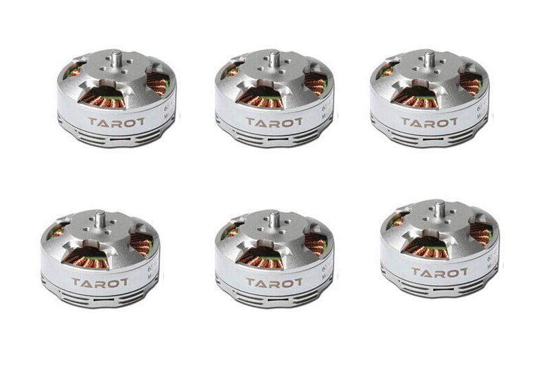 4 pièces/6 pièces Tarot 6 S 380KV 4108 moteur sans brosse disque multi-rotor TL68P07 pour Drone Multicopters RC