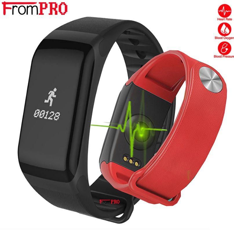 Bracelet intelligent F1 sport Bracelet fréquence cardiaque activité Fitness tracker bande intelligente électronique étape Bracelet pour Xiaomi pk bande 3
