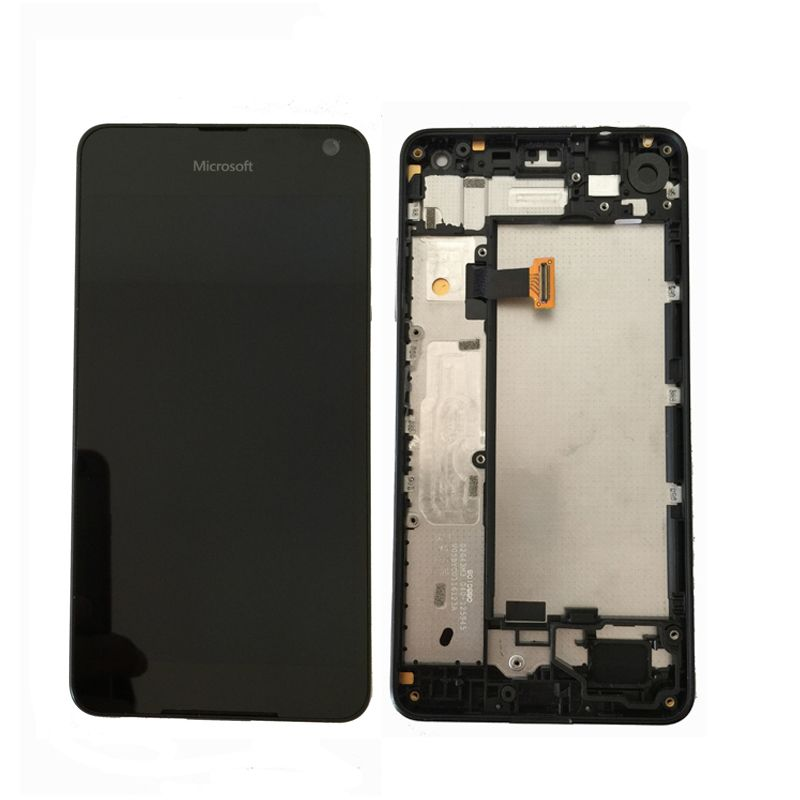 Original Amoled For Microsoft Nokia Lumia 650 LCD Display with Touch Screen Digitizer Assembly With frame free shipping