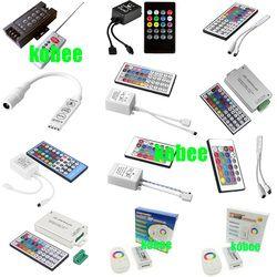 3Key 8Key 24Key 44 Key Musik WIFI IR RF Remote Garis Ganda Controller untuk 3528 5050 RGB LED Strip