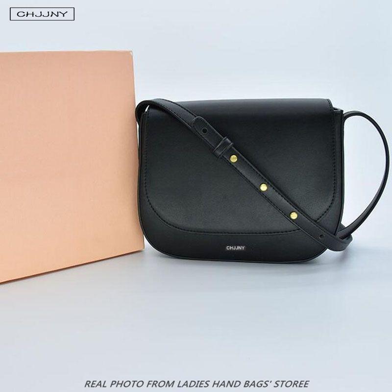 Chjjny echtes leder berühmte designer Gavriel und Mansur kleine crossbody brieftasche mädchen messenger luxus schultergurt tasche