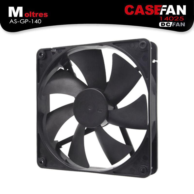 ALSEYE 140mm Computer Fan DC 12V Cooling fan cooler 1200RPM 56CFM 14cm quiet fans (14025)