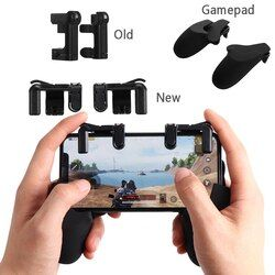 2Pcs Knives out Rules of Survival Mobile Game Fire Button Aim Key Smart phone Mobile Gaming Trigger L1R1 Shooter Controller PUBG
