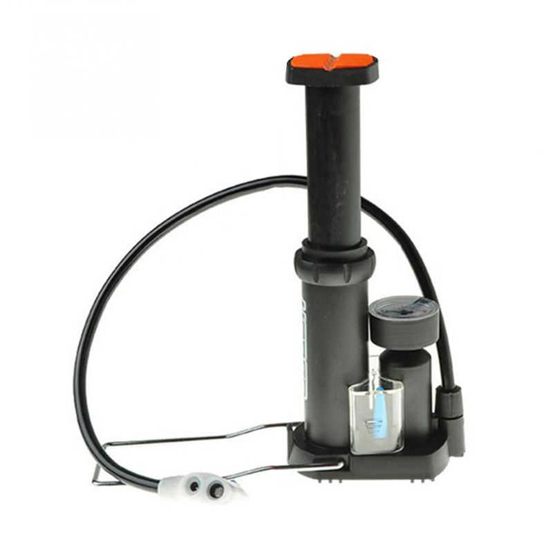 CGDS HONOR Mini Portable High-pressure Bicycle Pump Pedal Cycling Pumps Straddling Inflator for Mountain Bike