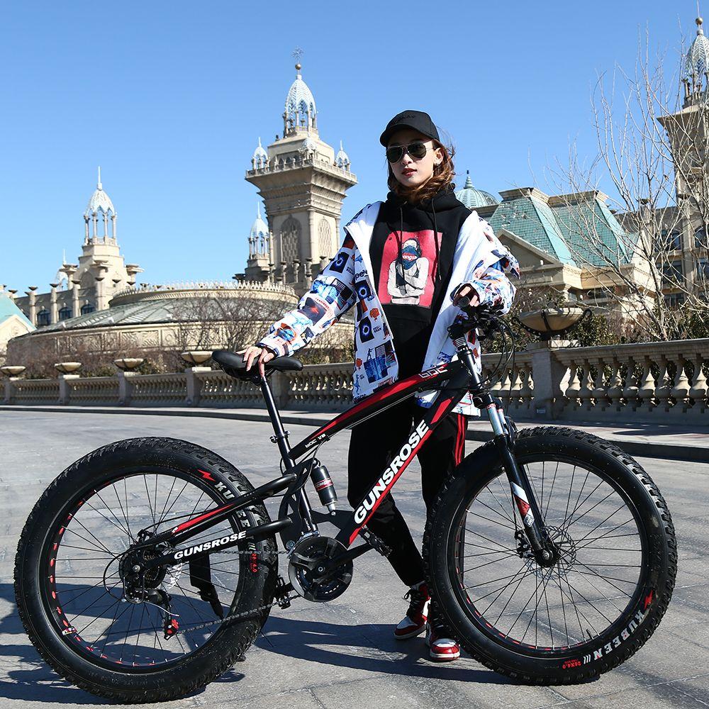 KUBEEN new arrival 7/21/24/27 speeds Fat bike 26 inch 26x4.0