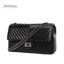 Aminou Petit Sacs À Main De Luxe Pour Femmes Marque Designer Épaule Sac Lady V Bande Bandoulière Sacs Femmes Messenger Bolsa Feiminina