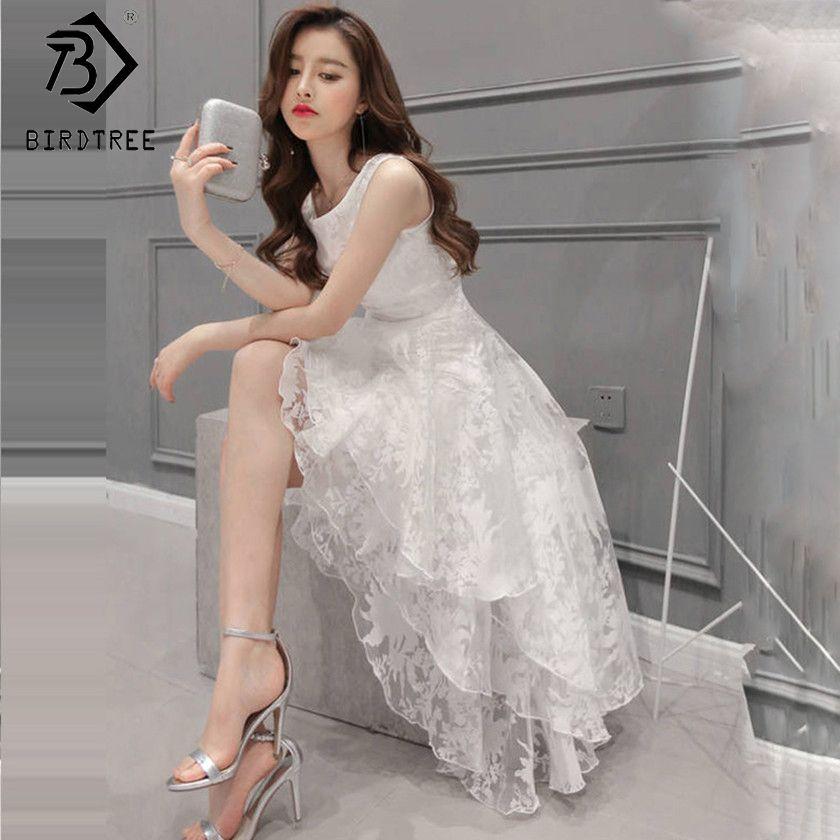 White Pink Print Vintage Organza Layered Dresses Elegance 2017 Ladies <font><b>Ball</b></font> Gown Women Sleeveless Female Dress Europe Hot D7N302A