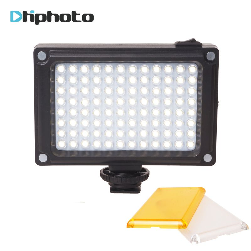 Ulanzi 96 Camera LED Video Light Photo Studio Light on Camera with Hot shoe for Canon Nikon Sony DV SLR <font><b>zhiyun</b></font> Smooth Q Gimbal