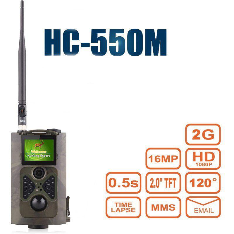 16MP Wild Camera Hunting 0.5S Trigger Photo Traps HC550M Digital Wildlife Camera Wild camera chasse mms HC550M photo traps cam