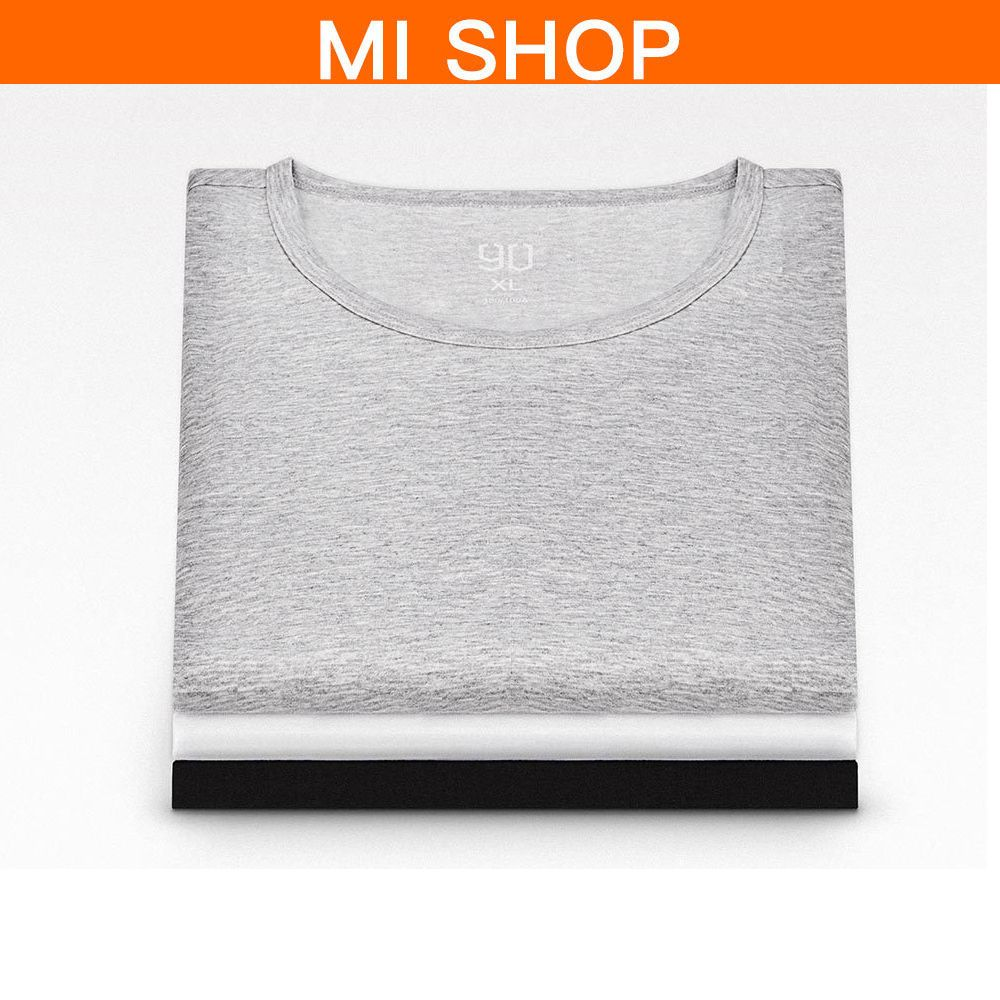 2pcs/set Original Xiaomi 90 Points Silver Ion Antibacterial T-shirt For Summer