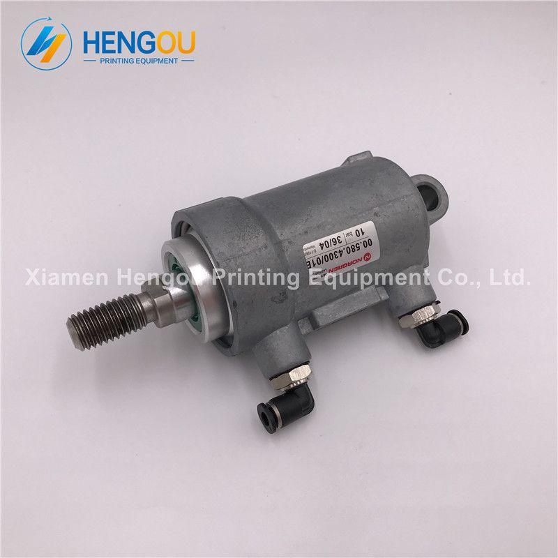 2 Pieces 00.580.4300 Heidelberg pneumatic cylinder Heidelberg SM52 SM74 machine cylinder