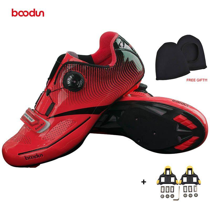 BOODUN Neue Männer Professionelle Rennrad Schuhe rutschfeste selbstsichernde Radfahren Schuhe Sport Racing Schuhe Sapatos de ciclismo