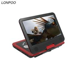 LONPOO 10.1 inch Portable DVD Player with TFT LCD Screen Multi media dvd player With Analog TV and game function DVD Player