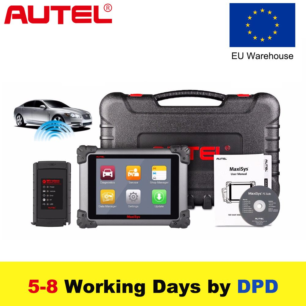 Autel High-End MaxiSys Pro MS908 Car Diagnostic Tool OBD2 Scanner Wireless Car Repair Tool Vehicle Programming  Scanner