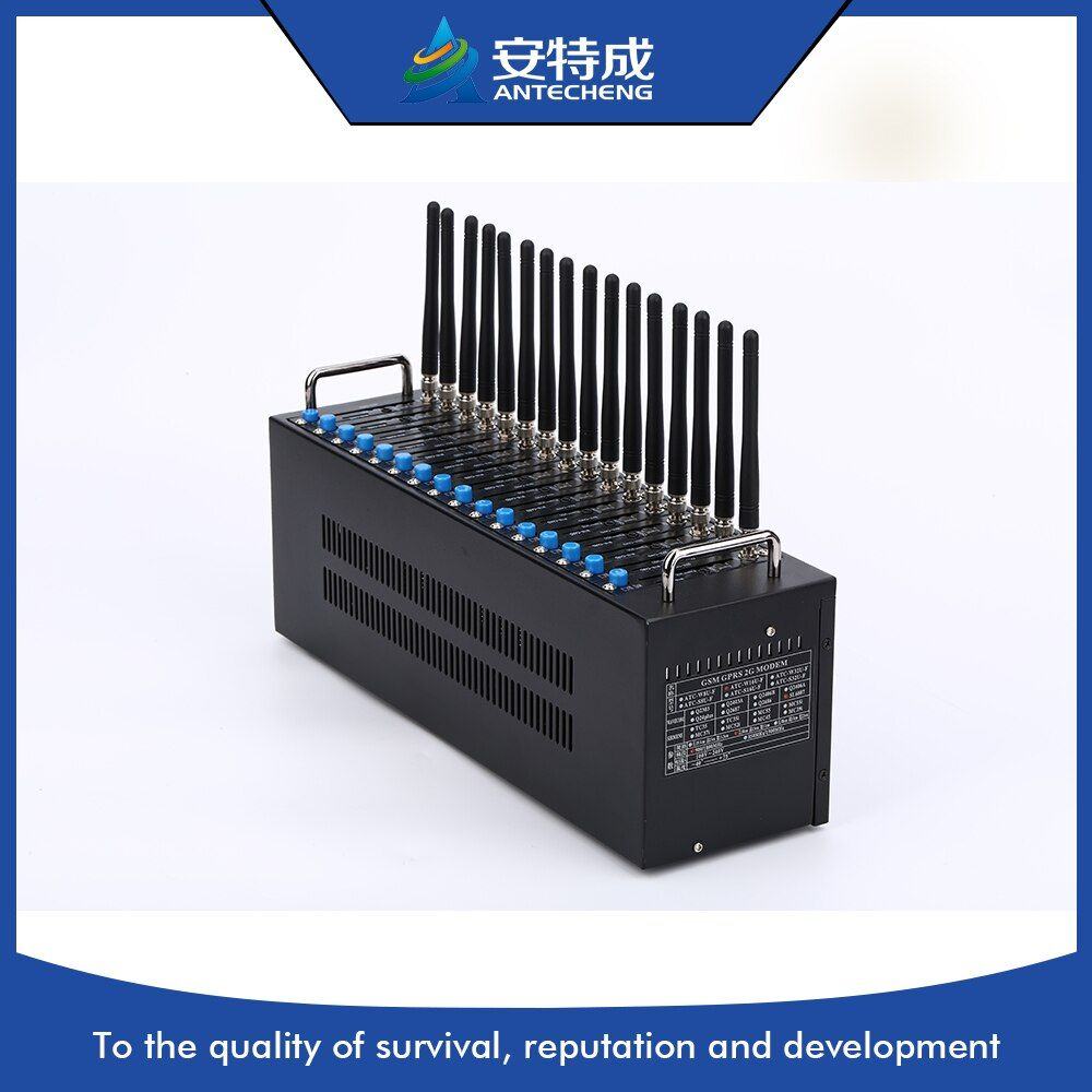 Niedrigen preis USB GSM 16 Portmodemlache SMS modem, massen-sms 16 port gsm modem pool