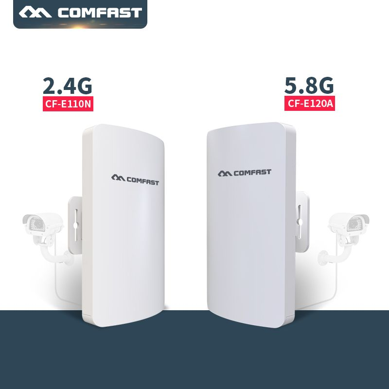 300Mbps Access Point Outdoor CPE WIFI Extender 2.4G 5G Wifi Router AP Extender Bridge nano station wireless signal transmission