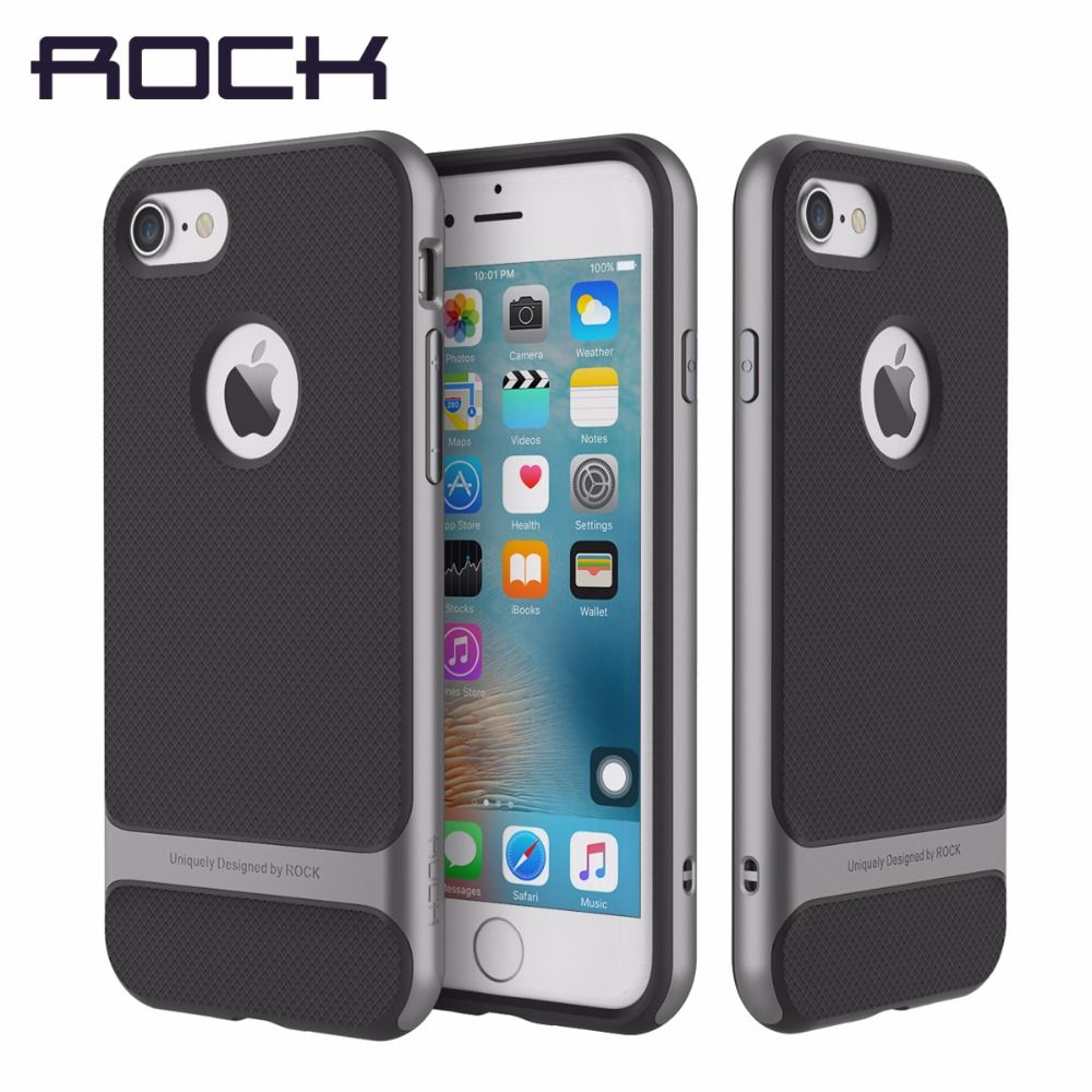 ROCA Original Royce caso para el iphone 7 Caso 8 Plus 2016 Nuevo híbrido de lujo de la PC Tpu para el iphone 7/8 delgado Armor shell