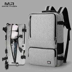مارك رايدن الجديدة عالية السعة المضادة-لص تصميم حقيبة السفر يصلح ل 17 بوصة حقيبة لابتوب سعة كبيرة حقيبة سفر الأعمال