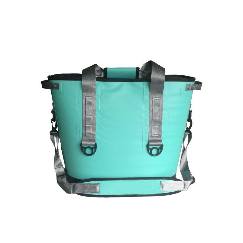 GZL New mint vert refroidisseur sac 20 boîtes et Trémie DEUX Portable Refroidisseur