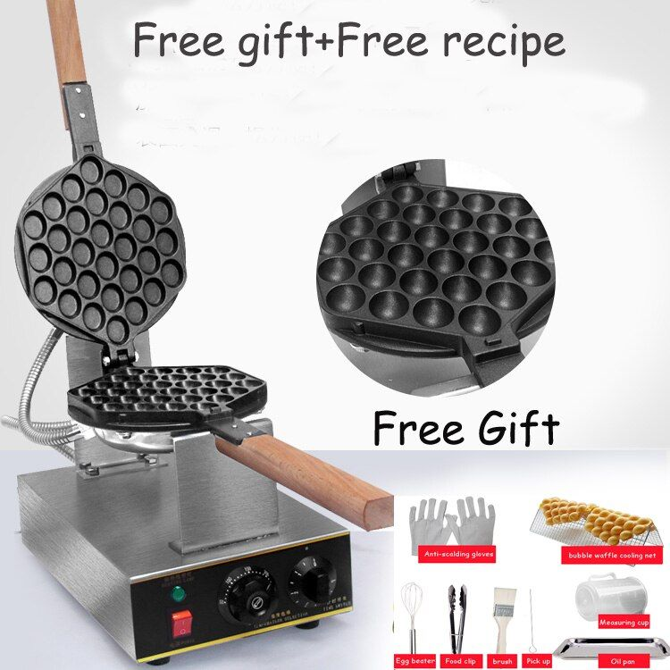 China directly factory price bubble waffle machine egg waffle machine HongKong eggettes bubble waffle maker