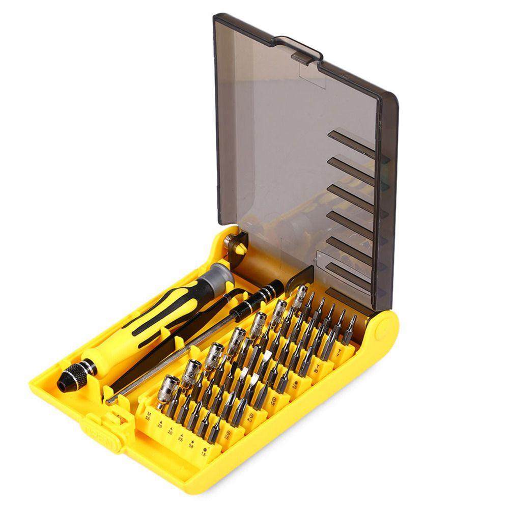 45 En 1 Électrique de Précision Tournevis Torx MIni Magnétique Tournevis Tool Set Outils À Main Kit Téléphone PC Outils De Réparation Avec boîte