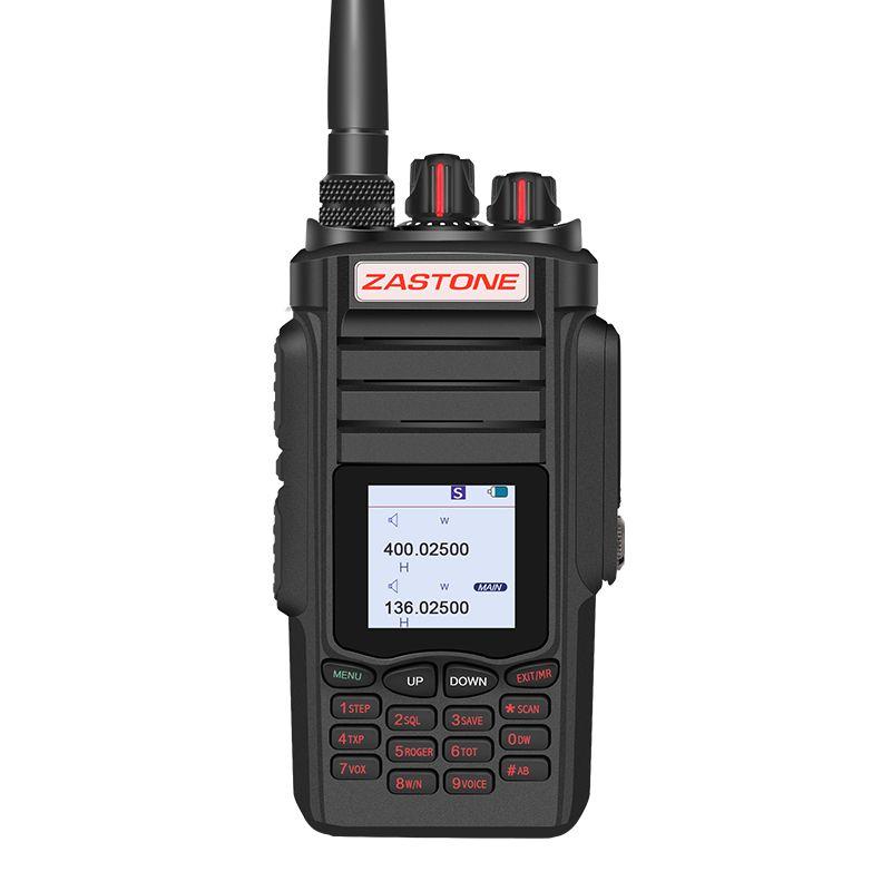 Zastone A19 Walkie Talkie Professional CB Radio ZASTONE A19 Transceiver 10W VHF&UHF Handheld A19 For Hunting Radio