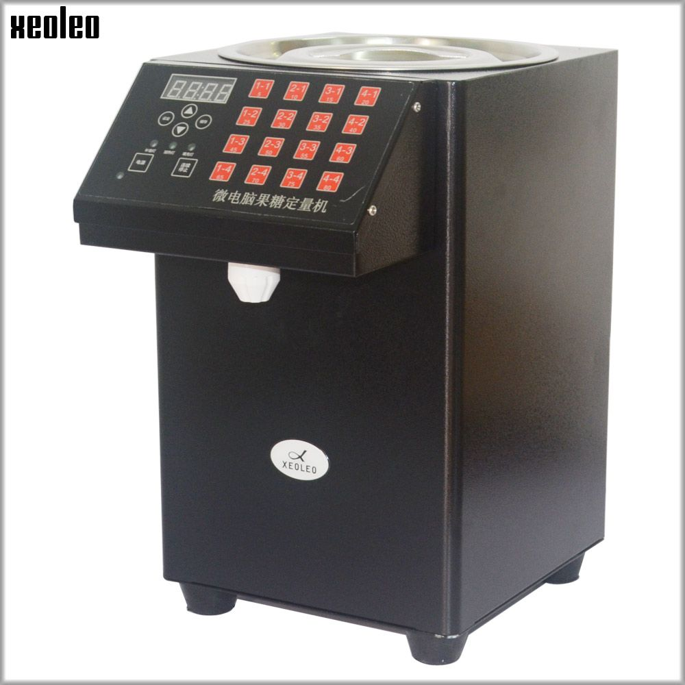 XEOLEO 16 Quantitative Fructose machine Automatic Fructose Dispenser Syrup dispenser Bubble tea shop Milk tea Equipment levulose
