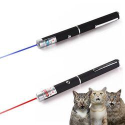 5mW High Power Laser Pointer 532nm Blue-Violet Red Laser Light Pen Teaching Presenter Beam Powerful Hunting Lazer Sight Device