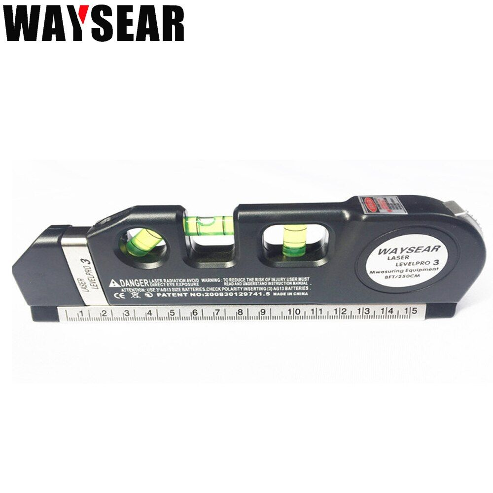 Croix niveau laser de ligne et Règle de mesure niveau Construction outils pour Maçonnerie Decorat Fil breakersLevels livraison gratuite