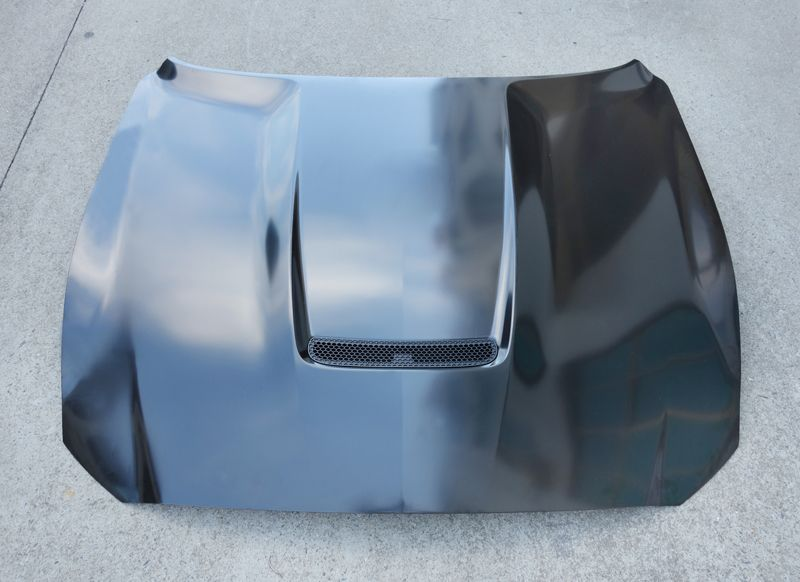Z-ART GT350 steel engine hood for Ford Mustang 2015-2017 2.3T facelift engine bonnet for Mustang