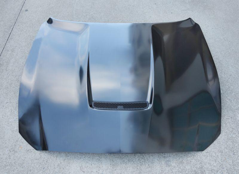 Z-ART GT350 steel engine hood for Ford Mustang 2015-2017 2.3T facelift engine bonnet for Mustang