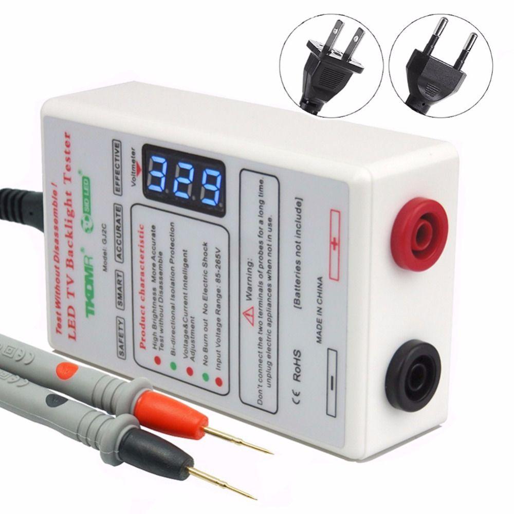 TKDMR sortie 0-330 V lampe à LED perles rétro-éclairage testeur outil Smart-Fit tension pour toutes les tailles LCD TV ne pas démonter l'écran