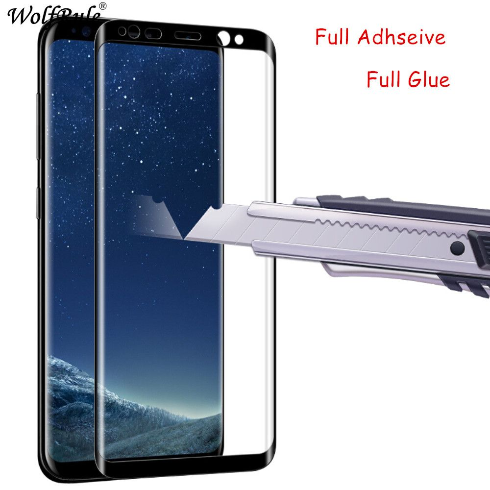 3D Full Glue Curved Tempered Glass For Samsung Galaxy S8 Plus Curved Screen Protector Film For Samsung Galaxy S8 Plus Glass G955