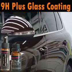 Coaterpro 9 H Plus Kaca Cair Coating (X9) glasscoat Nano Cat Mobil Auto Detailing Ganti Lilin Kuarsa Auto Detailing 50 Ml Kit