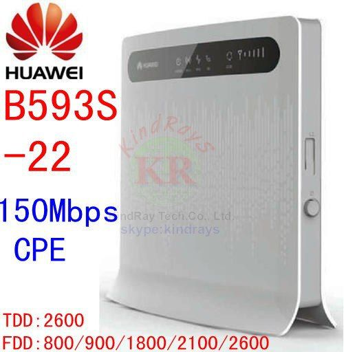 Unlocked Huawei B593s-22 150Mbps 4G lte CPE wifi Wireless Router 4g lte Wifi Mobile dongle pk b593 b880 b890 e5172 b310 b315