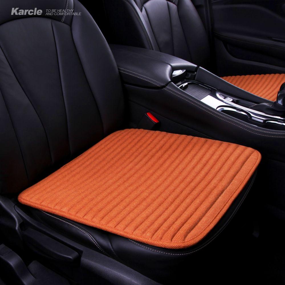 Karcle 1 pièces naturel sarrasin siège de voiture couvre sain antibactérien Dirving coussin Pad protecteur 4 saisons Durable accessoires