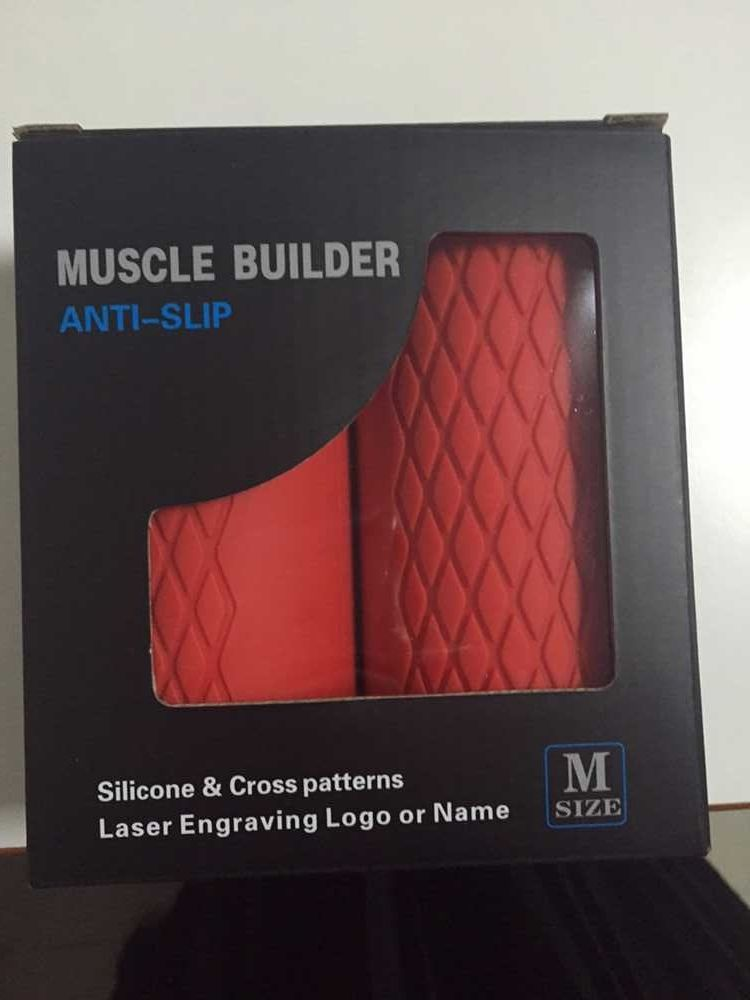 Thick Bar Grips EXTREME Turns Barbell, Dumbbell, and Kettlebell Into Thick Gripz For Muscle Growth. Strengthen Your Forearm/Bice