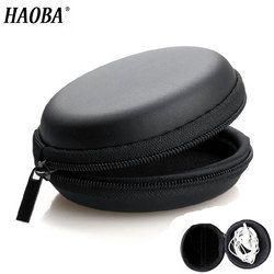 HAOBA держатель для наушников чехол для хранения Жесткий сумка Коробка Чехол для наушников Аксессуары Наушники карта памяти USB кабель