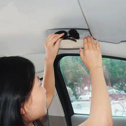 Untuk Geely LC Cross, GC2-RV, GX2, Emgrand Xpandino, Panda Pandino, GC2, mobil Kacamata Hitam Kacamata Case Kotak Pemegang Penyimpanan