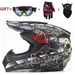 Envío Gratis adulto de la motocicleta motocross Off Road casco ATV Dirt bike Downhill MTB DH racing casco capacetes