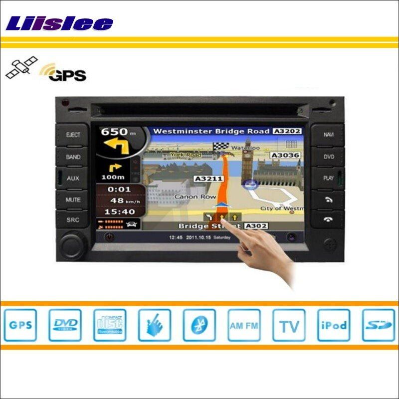 Liislee For Citroen C3 2002~2009 Car Radio Audio Video Stereo CD DVD Player GPS Nav Navi Map Navigation S160 Multimedia System