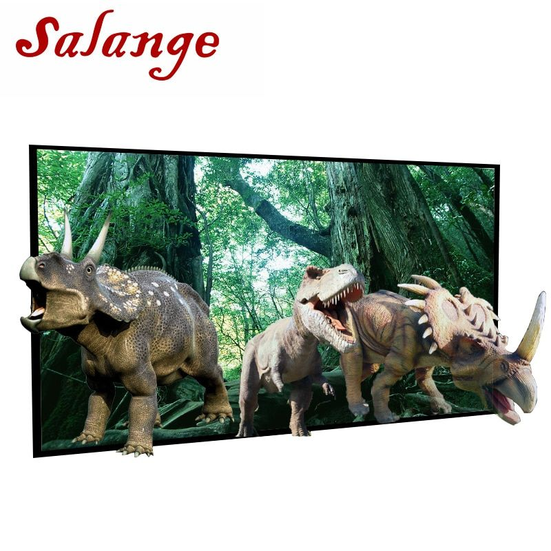Salange Projector Screen 72 84 100 120 inch 16:9 Projection Screen For XGIMI H1 H2 H1S Z6 Z3 JMGO J6S E8 UNIC UC40 UC46 Projetor