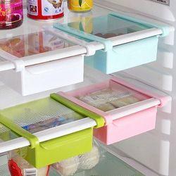 Hoomall Creative refrigerador caja de almacenamiento espaciador fresco capa de almacenamiento cajón fresco espaciador ordenar cocina herramienta 16,5x15 cm