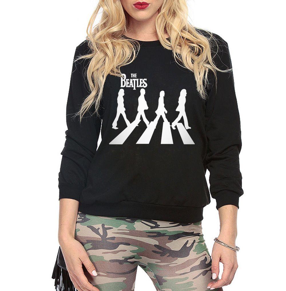 Famous band the  hip-hop sweatshirt women 2017 autumn female casual harajuku hoodies  tracksuit brand pullovers