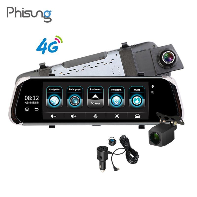 Phisung ADAS Auto DVR 4G Android GPS Navi 10