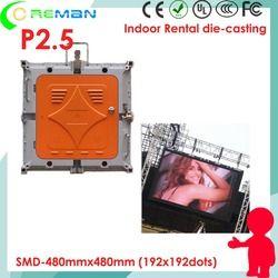 Khusus harga sewa indoor p2.5mm xxx film HD led video layar, pixel pitch kecil HD LED tv dinding HDMI DIV video processor p1