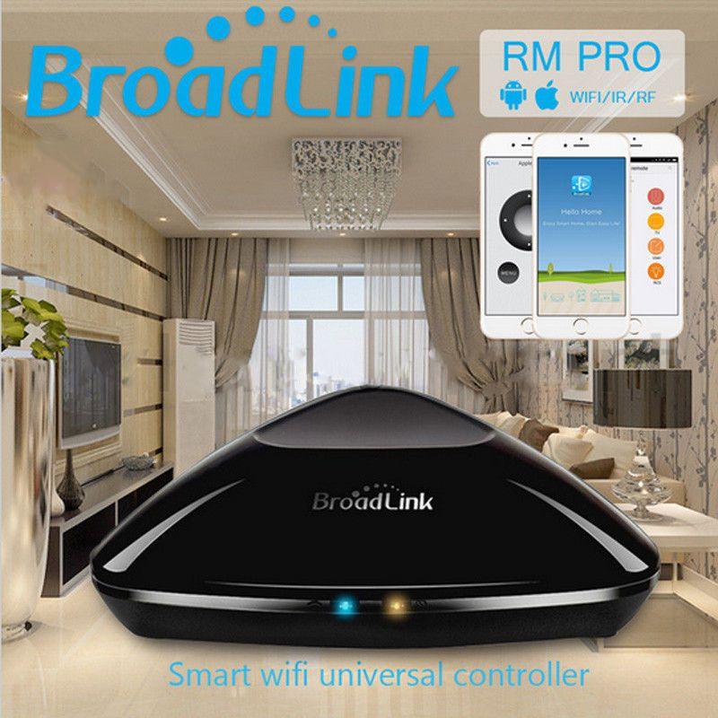 NUEVA Broadlink RM2 RM Pro remoto inalámbrico de casa inteligente de Automatización Inteligente WIFI controlador + IR + Conmutador de RF para IOS teléfono android