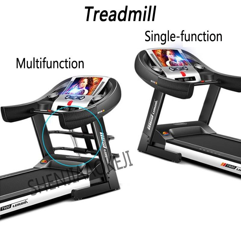 Motorisierte Laufband Haushalt indoor ultra-ruhige elektrische klapp laufband Intelligente multifunktions fitness ausrüstung