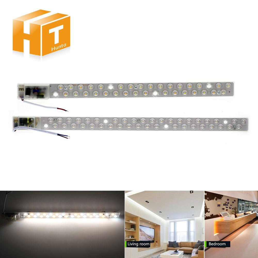 Deckenleuchten Led-modul 16 Watt 20 Watt LED Leuchtstoffröhre AC220V Einzel/Doppel Farbe Ersetzen Deckenleuchte Beleuchtung quelle